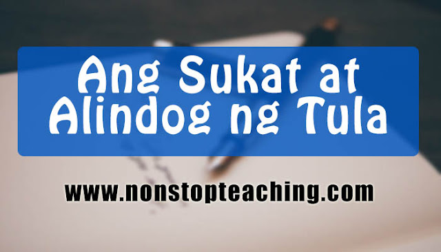 Ang Sukat at Alindog ng Tula