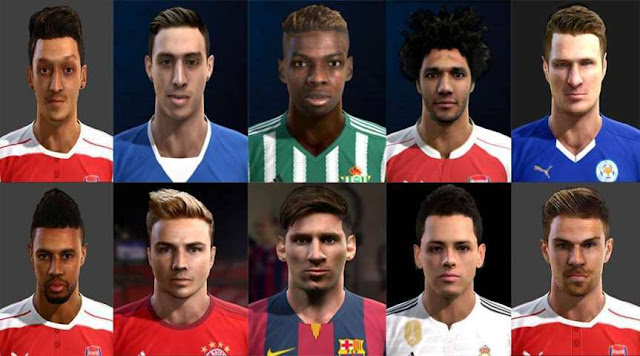 PES 2013 New Facepack 2016