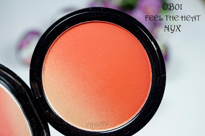ombre blush feel the heat