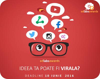 Competitie Nationala de Publicitate pentru Studenti Ad Labs Awards 2016