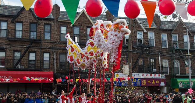 Desfile de ano novo em Brooklyn