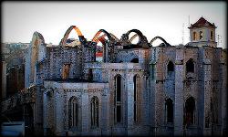 Ruinas Convento del Carmen en Lisboa