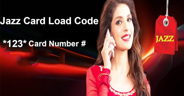 Jazz Card Load Code
