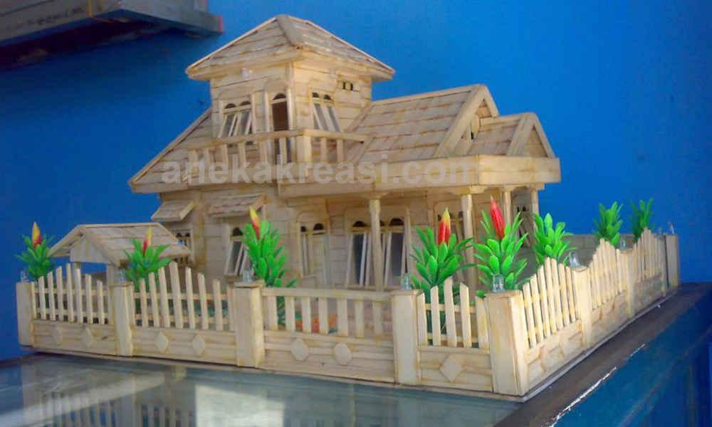 700 Gambar Dan Cara Membuat Rumah Dari Stik HD