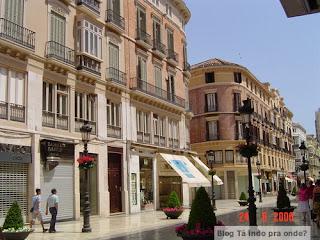 Calle Larios em Málaga