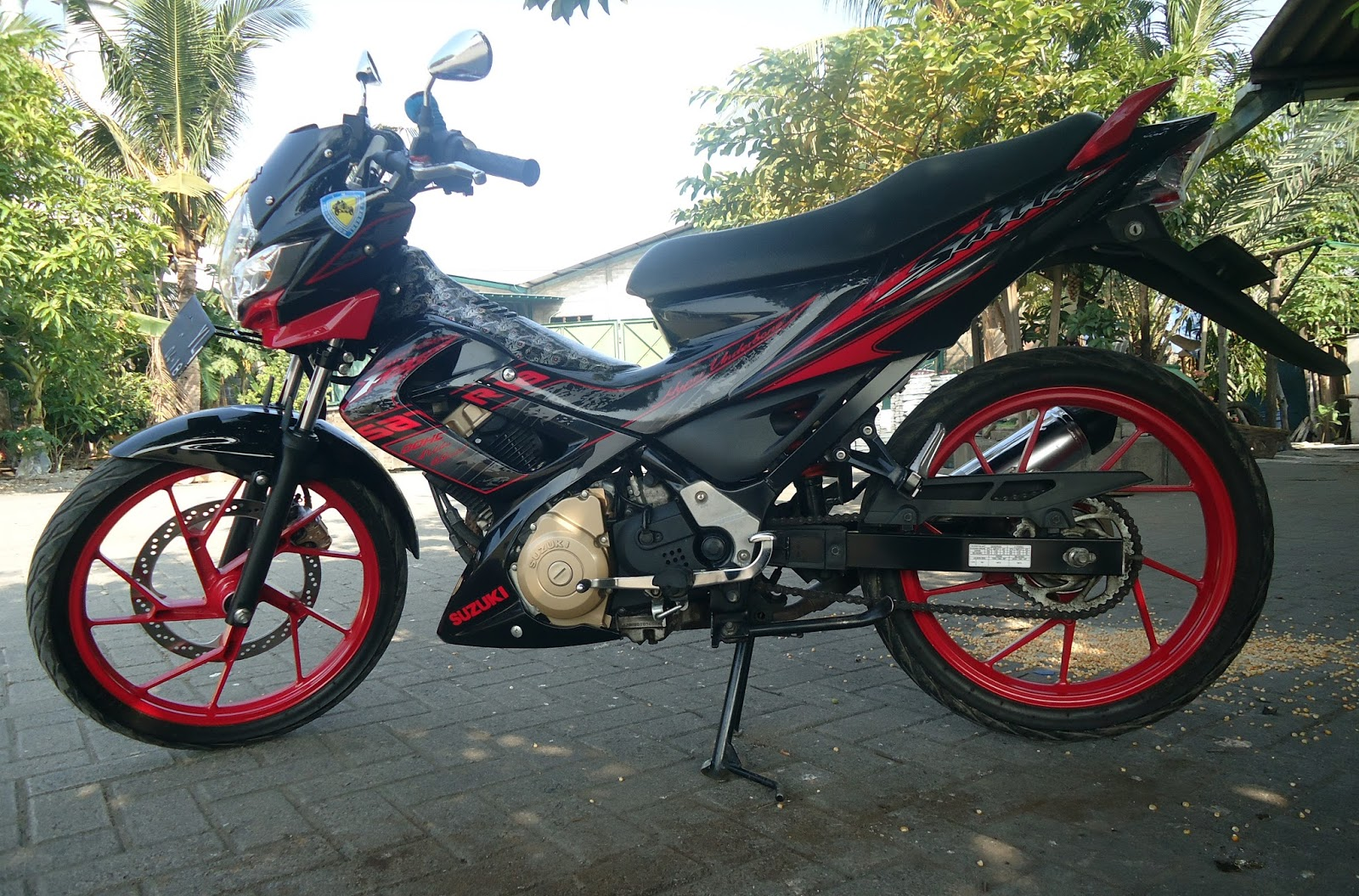 Blog B19 UnderConstruction Tips Satria FU 150