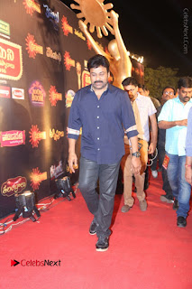 Chiranjeevi Stills at Gemini TV Puraskaralu Event  0025.JPG