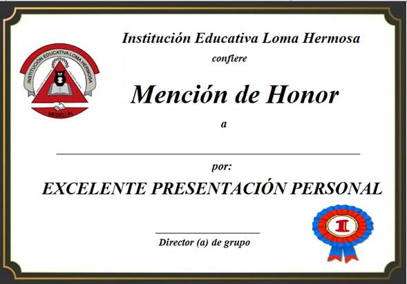 menciones de honor