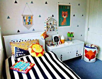 Desain Rumah Minimalis yang Bagus untuk Kamar Anak