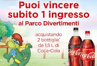 Logo Con Coca-Cola vinci 445 i ngressi a Gardaland e soggiorno per 4 persone
