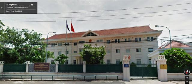 Vietnam Embassy in Vientiane