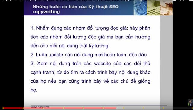 kỹ thuật seo copywriting