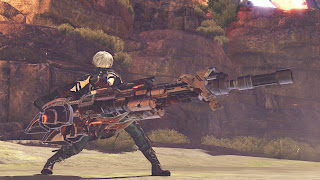 Game God Eater 3 Tampilkan Screenshot Heavy Moon God Arc dan Aragami Habakiri