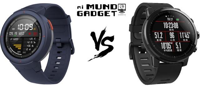 Comparativa: Huami Amazfit Verge vs Huami Amazfit Stratos 2