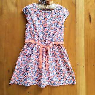 Đầm Carter bé gái, hàng xuất xịn, made in cambodia, size từ 3T đến 6X.