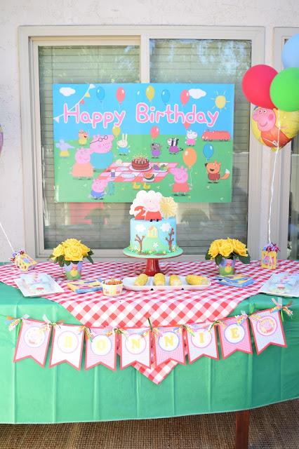 Peppa Pig Birthday