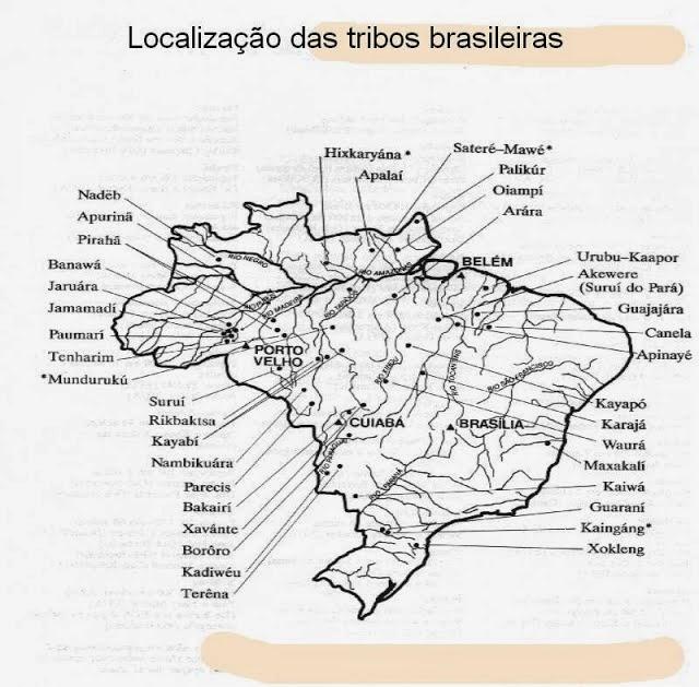 Índio Brasileiro, História e Distribuição da População Indígena no Brasil