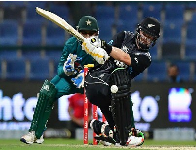 The second T20, New Zealand's target to win Pakistan, was 154 runs