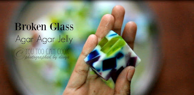 Broken Glass Jelly | Broken Glass Jelly Using Agar Agar | Colorful Jelly Using China Graas