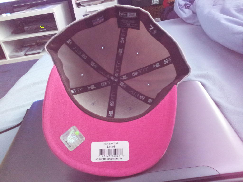Breast Cancer Awareness Jets Sideline Cap. It should be no surprise to  anyone at this point of the year that the New York Jets are having a...less  than ... f0d14ab72f25