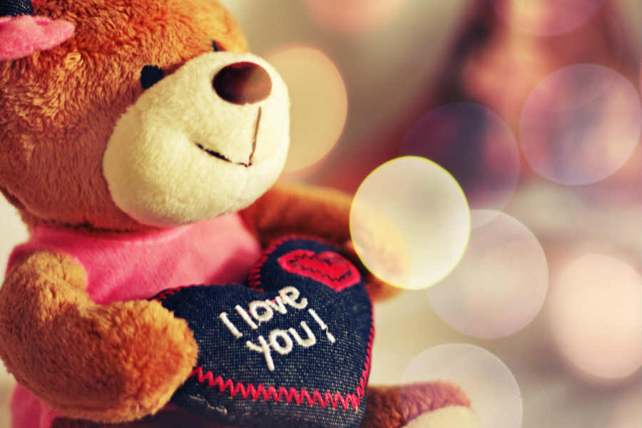 I Love you Teddy Bear Image