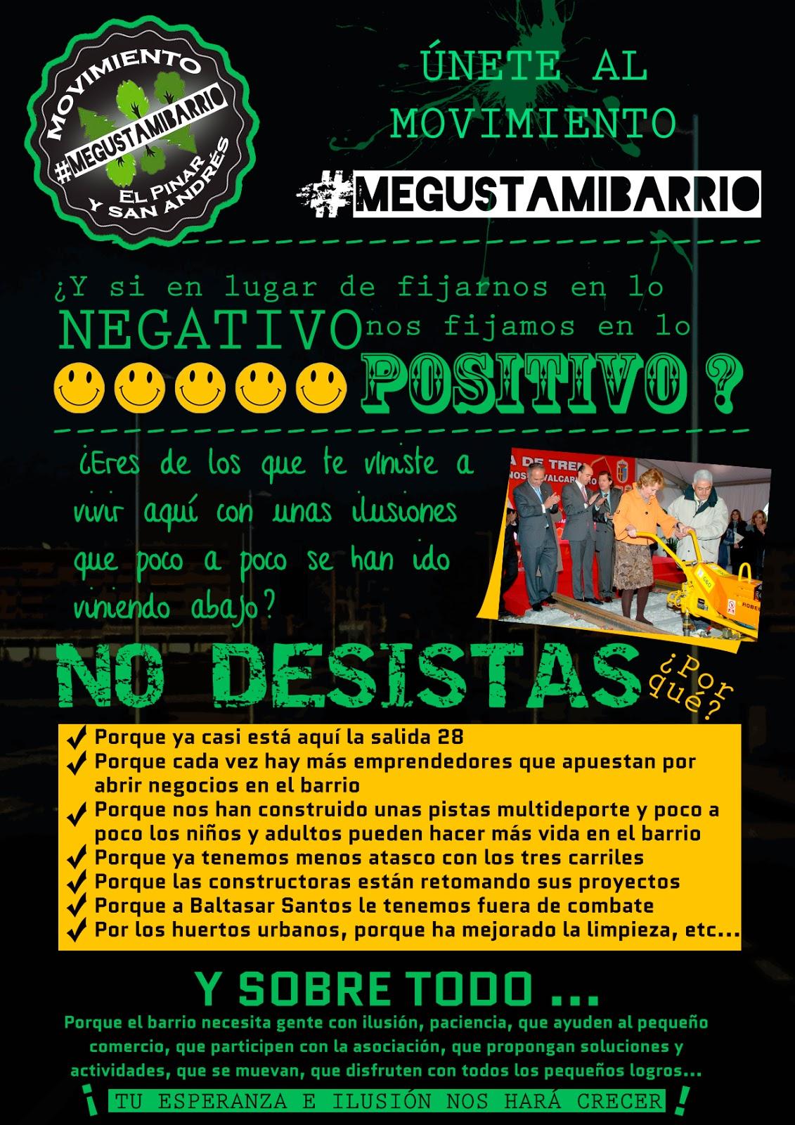 MOVIMIENTO #MEGUSTAMIBARRIO - Av El Pinar y San Andrés