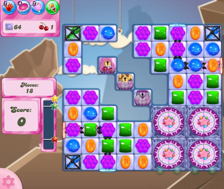 Candy Crush Saga level 2715