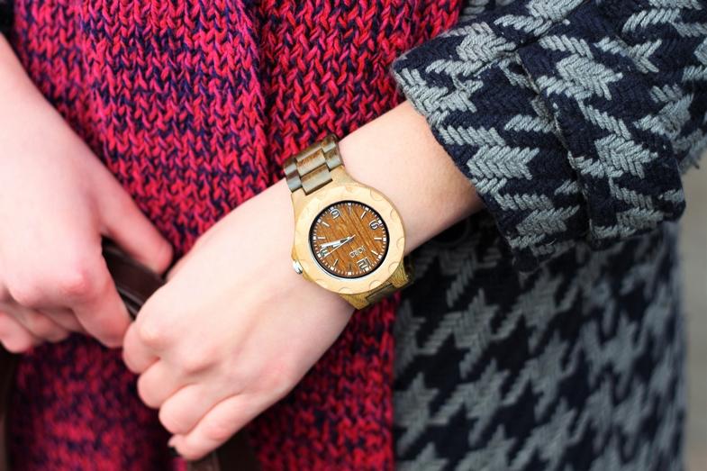 Zegarek z drzewa bambusowego doda charakteru każdej stylizacji.