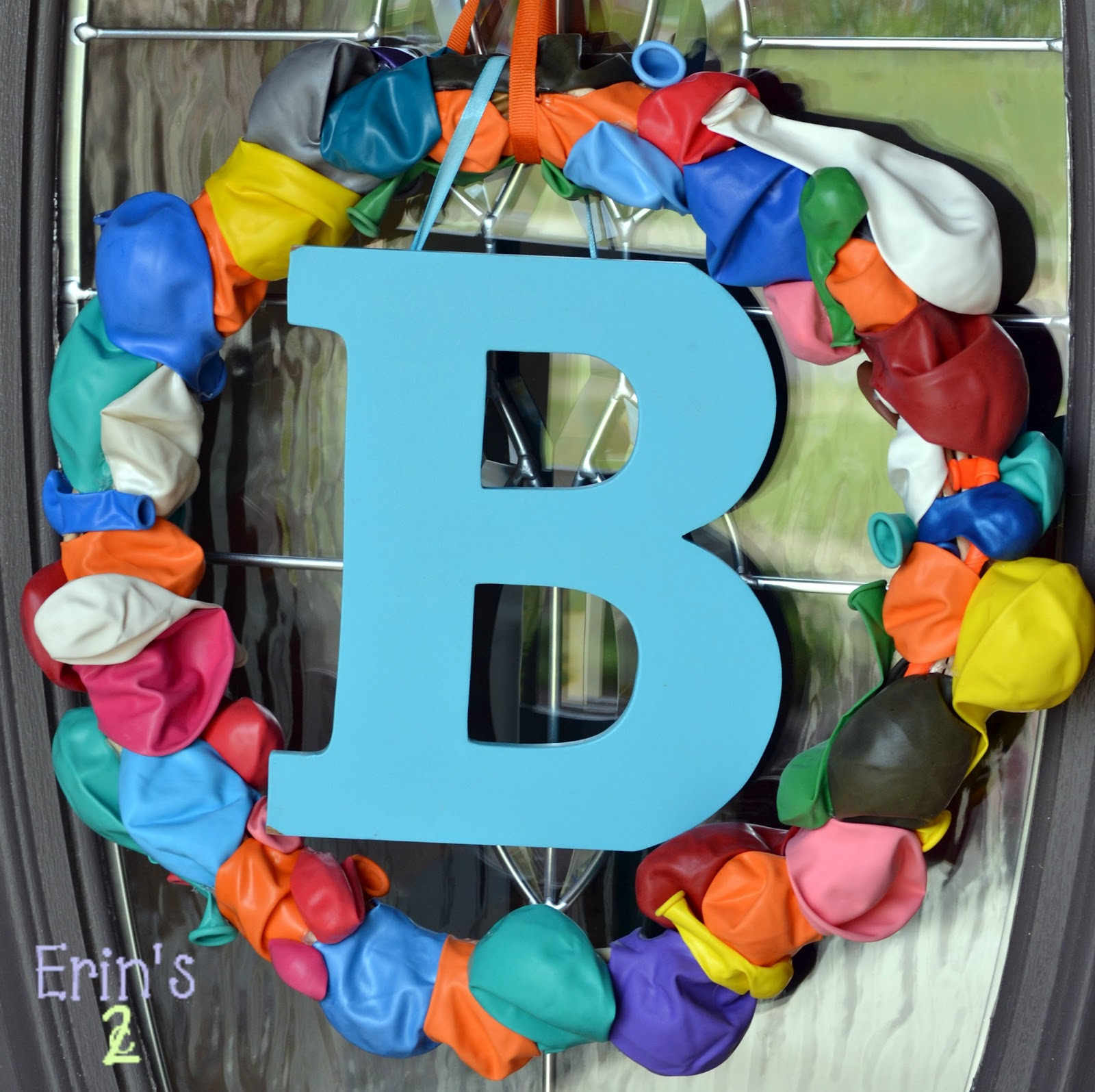 Erin's 2 Cents: Birthday Wreath