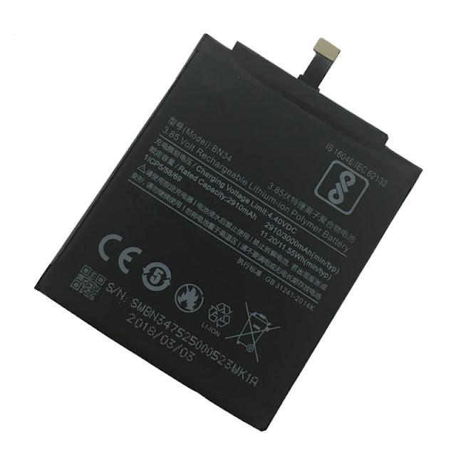 Thay pin Xiaomi redmi 5a chính hãng, bảo hành 3 tháng