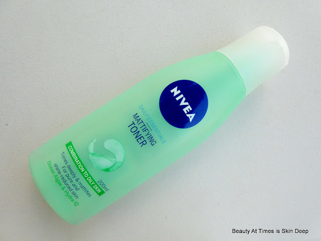 Nivea Daily Essentials Mattifying Toner