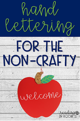 Here are the 3 steps that will transform you from a non-crafter to a certified Martha Stewart! Do you swoon every time you see something that has been hand lettered?  Do you wish that you had the creativity to do the same?  Well that was me until I figured out this crafty secret.