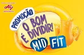Cadastrar Promoção MID FIT O Bom É Dividir - Concorra Moto