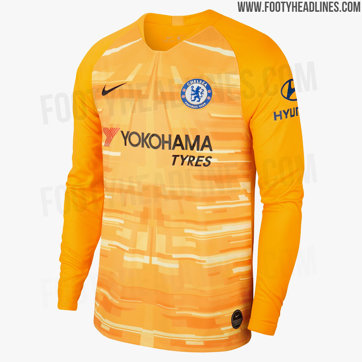 size 40 43765 5101d Chelsea 19-20 Goalkeeper Kit Leaked - Footy Headlines