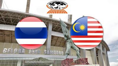 Live Streaming Thailand vs Malaysia Kejohanan AFF B-16 30.7.2018