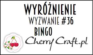 Wyróżnienie w Cherry Craft