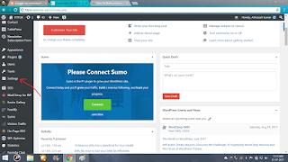 click setting tab dashboard