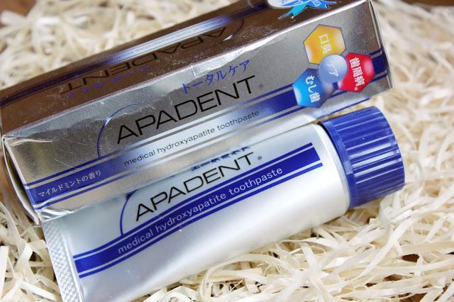 """Отзыв: """"Пломбирующая"""" лечебно-профилактическая зубная паста APADENT."""
