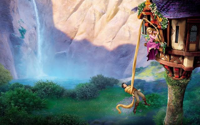 Rapunzel Y Su Pelo Invitaciones Para Imprimir Gratis