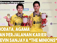 "Biodata Lengkap Kevin Sanjaya Sukamuljo ""The Minions"""