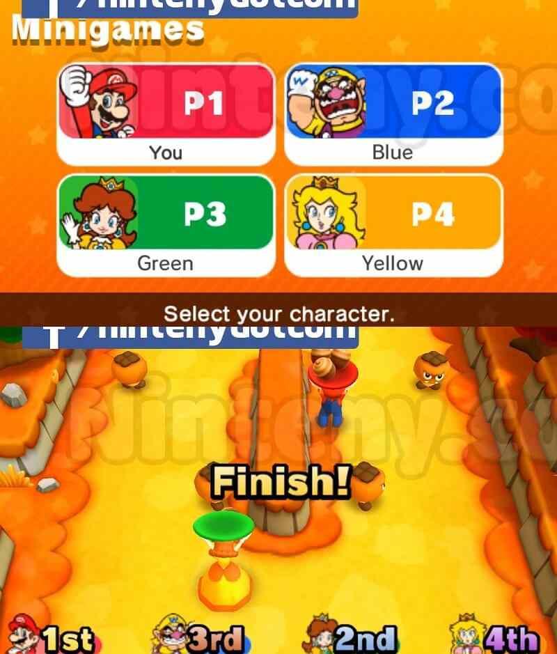 Mario Party Star Rush Cia USA - EUR