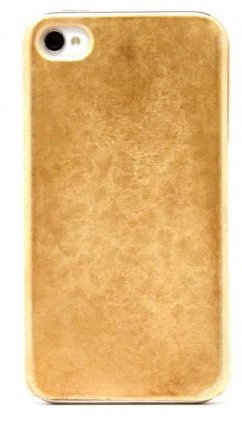 gold phone case