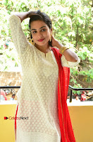 Telugu Actress Vrushali Stills in Salwar Kameez at Neelimalai Movie Pressmeet .COM 0097.JPG