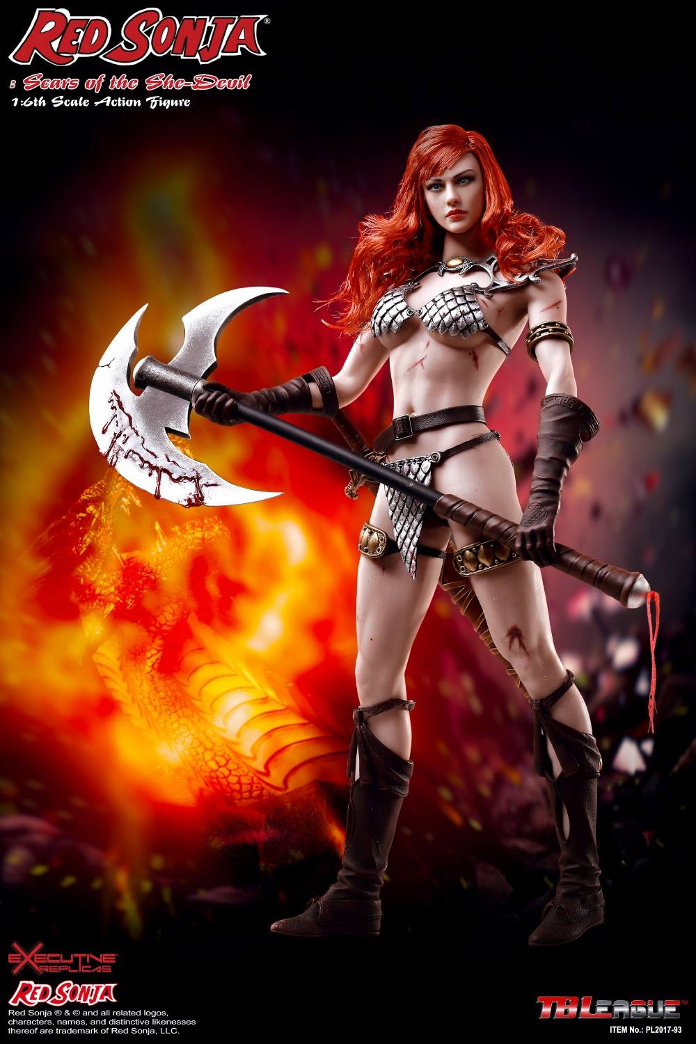 PHICEN - Red Sonja: Scars of the She-Devil  3