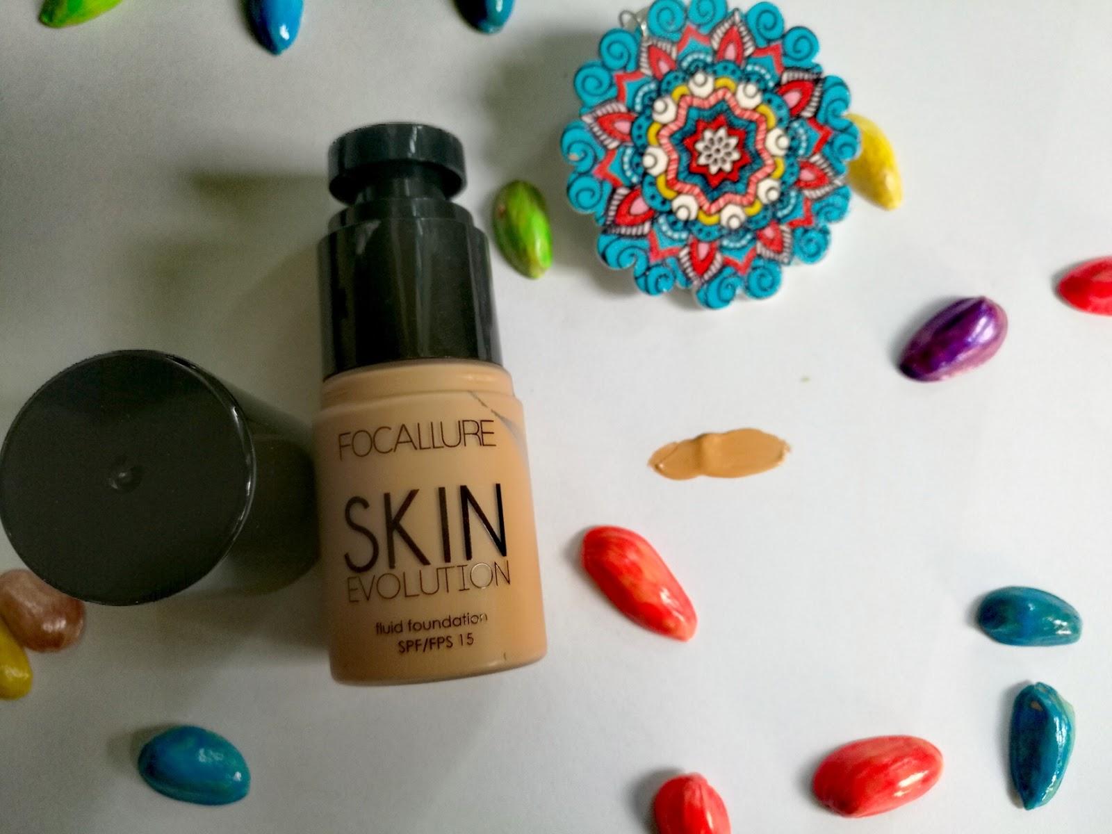 Focallure Skin Evolution Fluid Foundation swatch