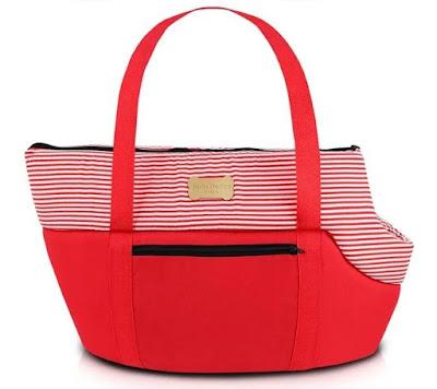 Bolsa Passeio Jacki Design Tam. G Pet Arn16087-Vm Vermelho