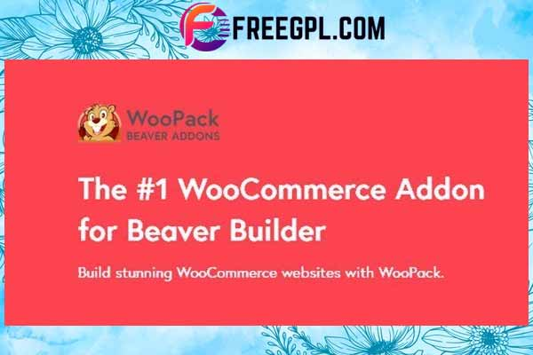 WooPack– WooCommerce for Beaver Builder Free Download