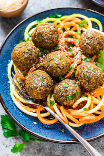 vegetarian lentil meatballs recipe
