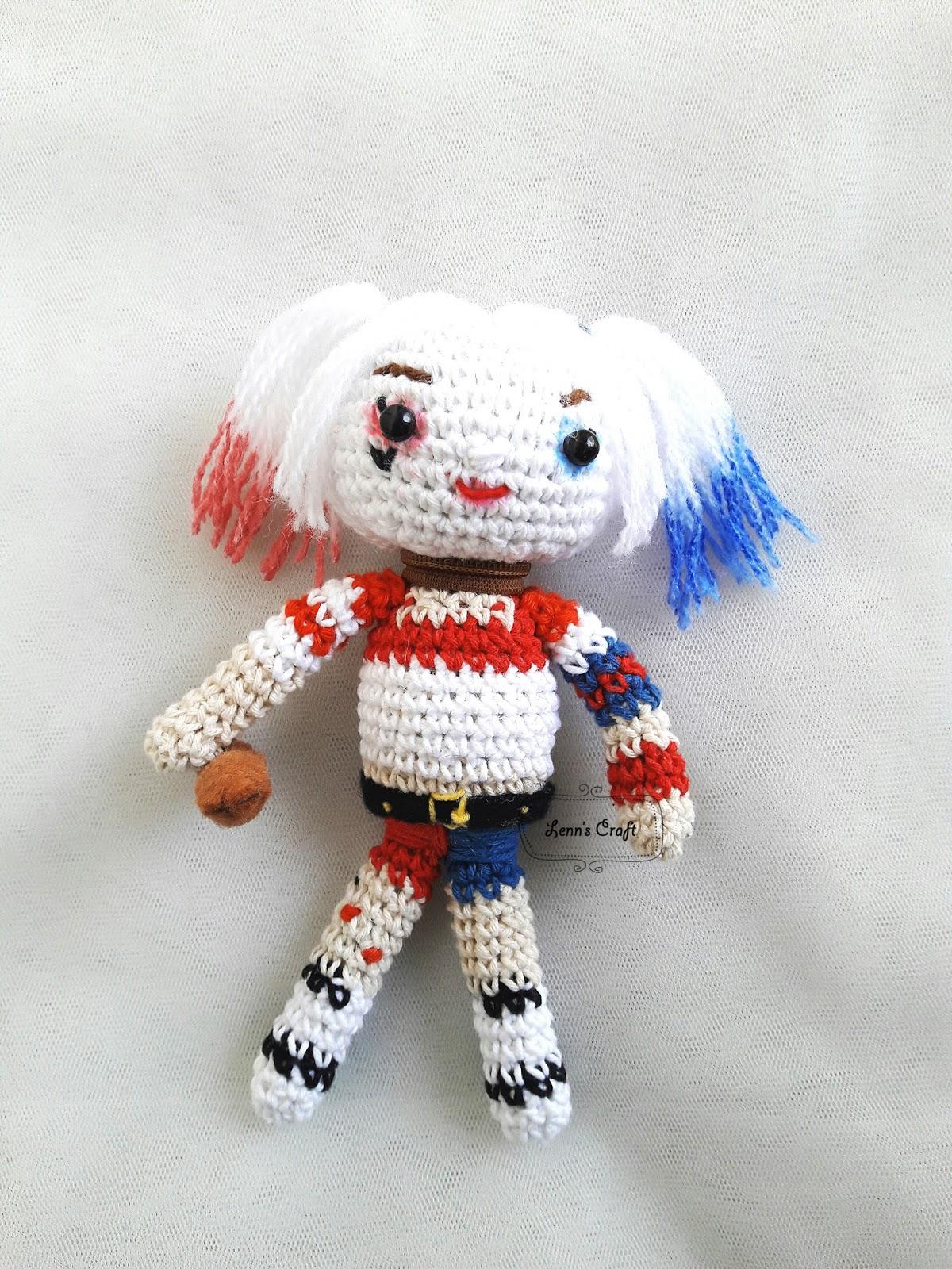 Harley Quinn Amigurumi - Suicide Squad | La Calabaza de Jack… | Flickr | 1600x1200
