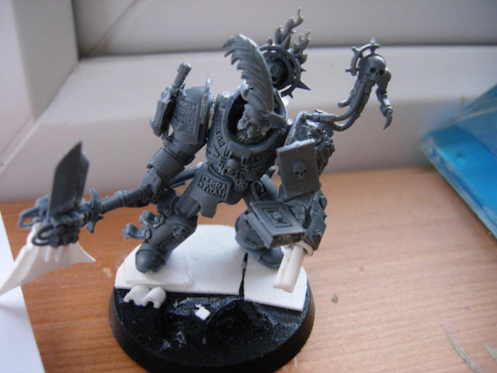 Fuzzbukets Mini Mayhem My Fave Conversion Grey Knights Librarian
